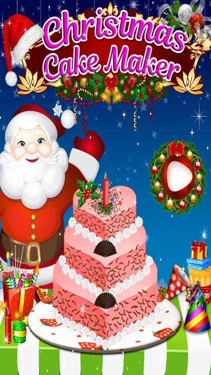christmas birthday cake maker kids game for free