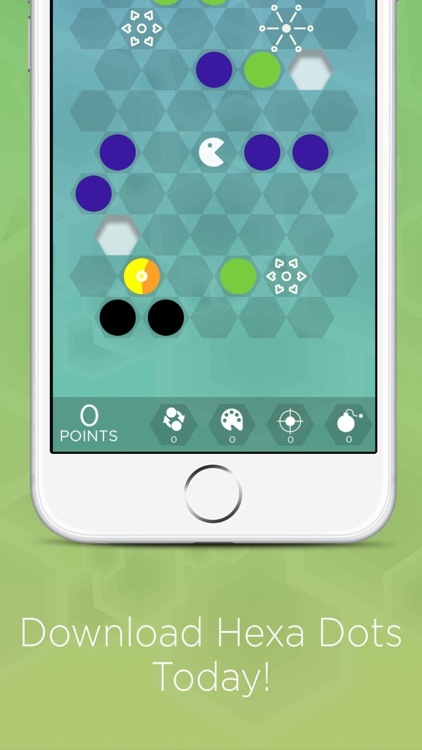 Hexa Dots - Connect Four Dots of the Same Color screenshot-3