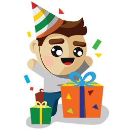 Birthday Stickers Animated