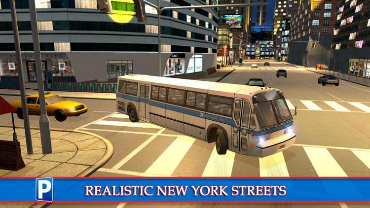 New York City Car Taxi and Bus Parking Simulator screenshot-3