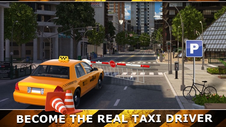 Taxi Cab Driving Test Simulator New York City Rush by