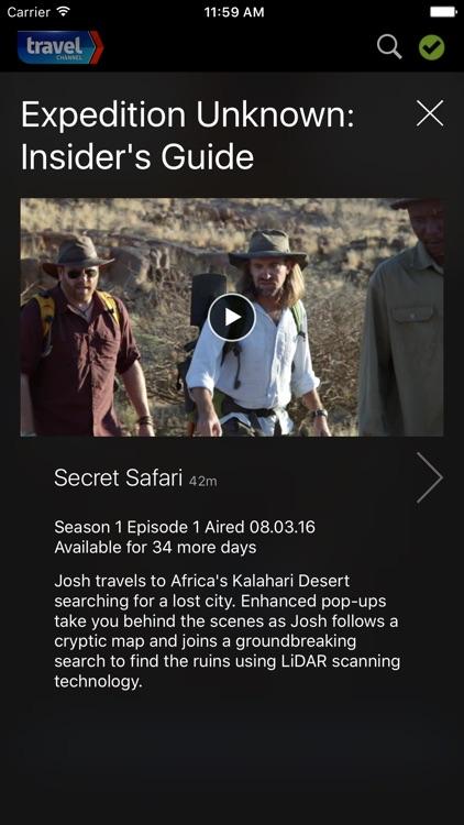 Watch Travel Channel screenshot-3