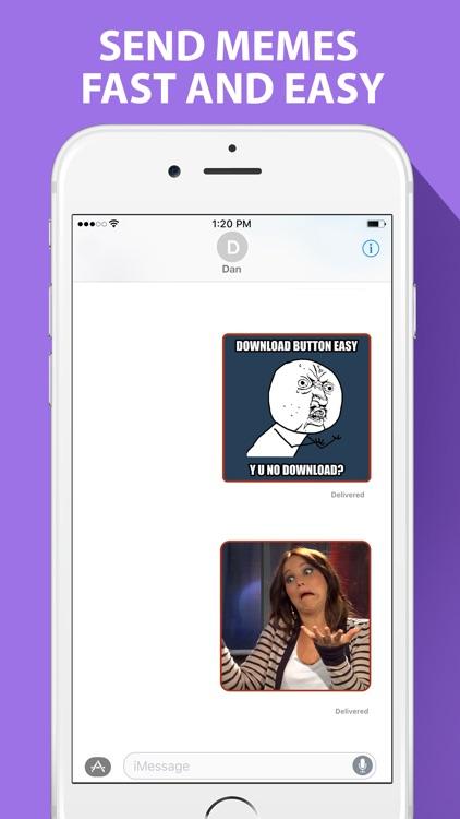 Ultimate Meme Maker for iMessage screenshot-3