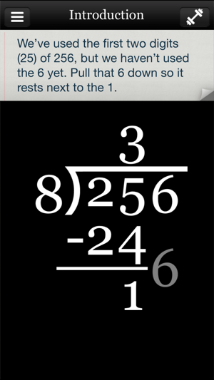 Long Division Touch On The App Store