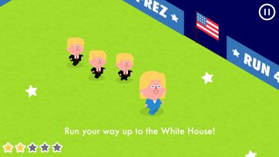 Run 4 Prez - Trump vs. Clinton screenshot three