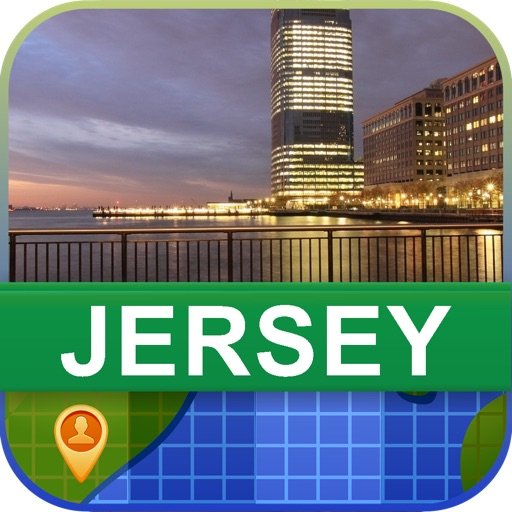Offline Jersey Map - World Offline Maps