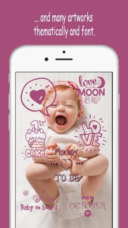 Baby Memories - Pregnancy & Baby milestone photos screenshot-3
