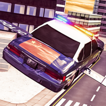 Free Sports Futuristic Police Car Simulation