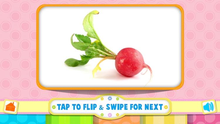 Tamizh Flash Cards- Vegetables screenshot-4