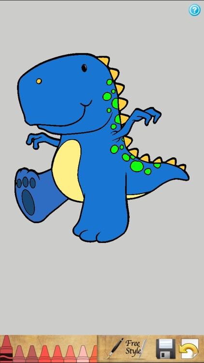 Dinosaur Coloring Book!