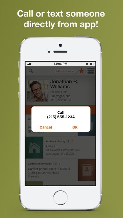 Intelius Reverse Phone Lookup screenshot-3