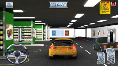 スーパーマーケットをドライブ:近代的な都市の車のショッピング3Dのおすすめ画像3