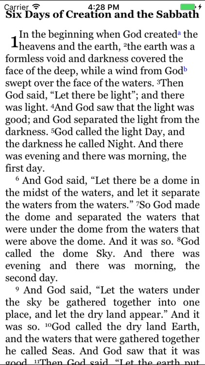 CCEL NRSV Bible screenshot-2