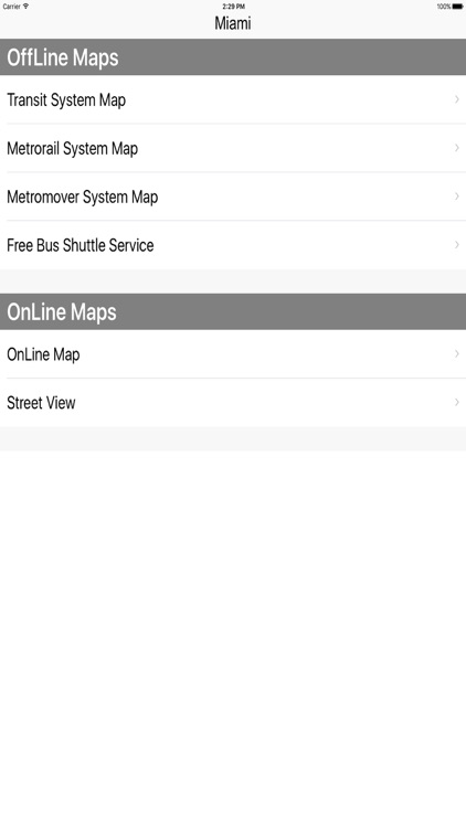 Miami Metro Rail Maps screenshot-4