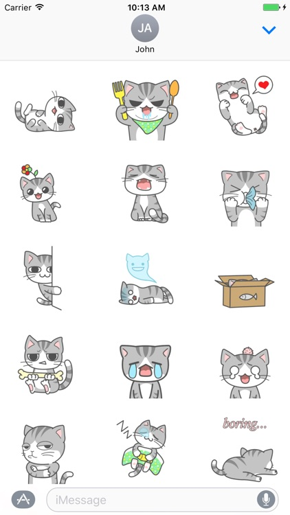 Cat Cute Baby GIF- Fc Sticker