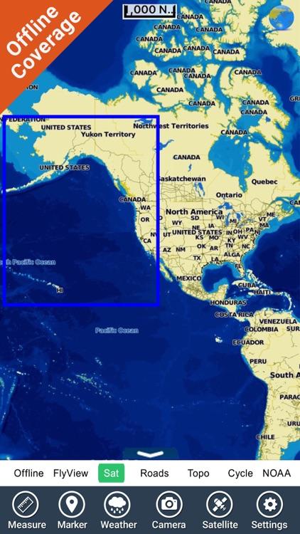 Boating US West & Alaska GPS chart navigator screenshot-4