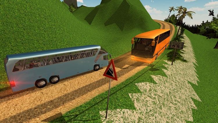 Offroad Tourist Bus Driving Transport Simulator