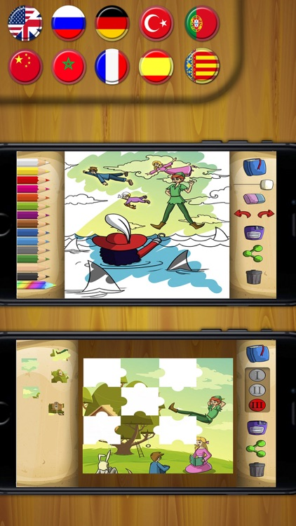 Peter Pan Classic tales - interactive book PRO