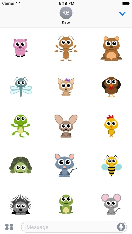 Adorable Animal Stickers screenshot-4