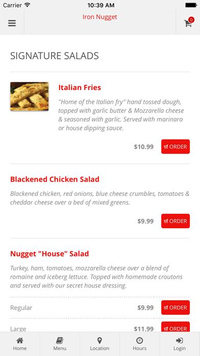 Iron Nugget Online Ordering screenshot three