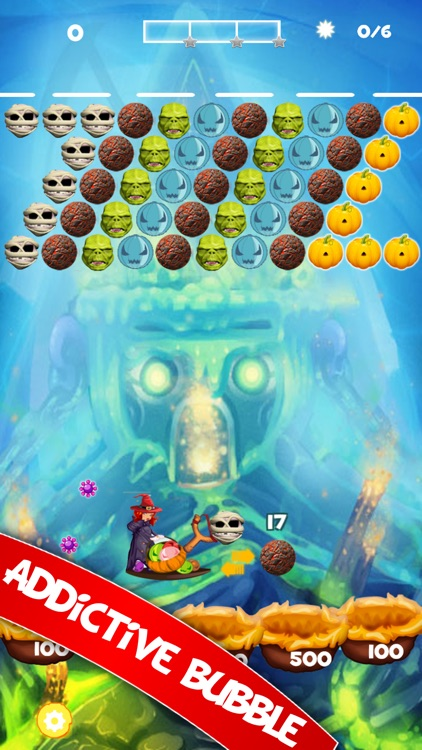 Bubble Shooter Monster Deluxe