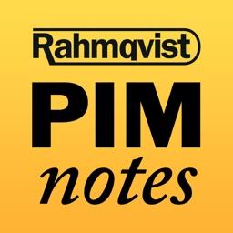 Rahmqvist PIMnotes