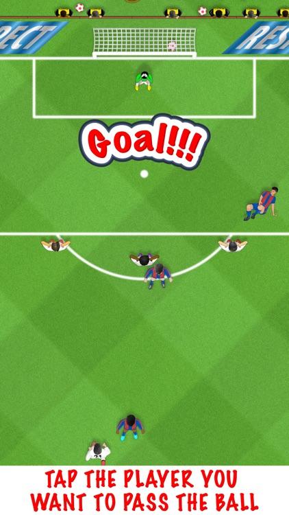 Galactic Trident - play funny soccer screenshot-0