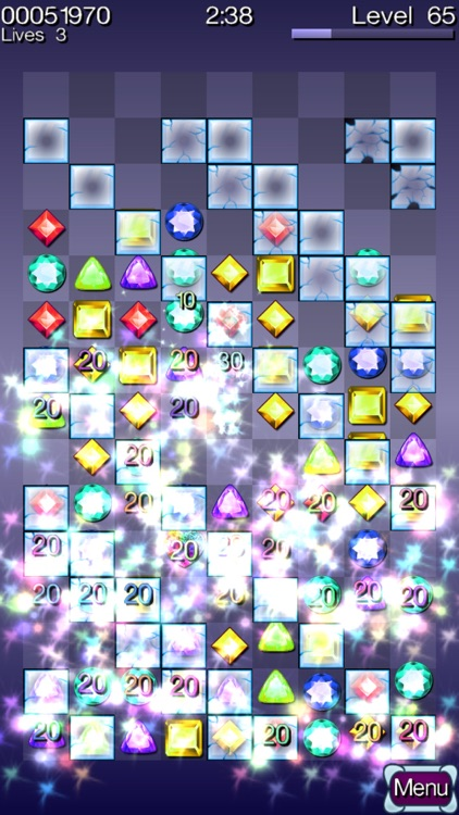 Diamond Stacks Mania : match 3 jewel gems puzzle! screenshot-4