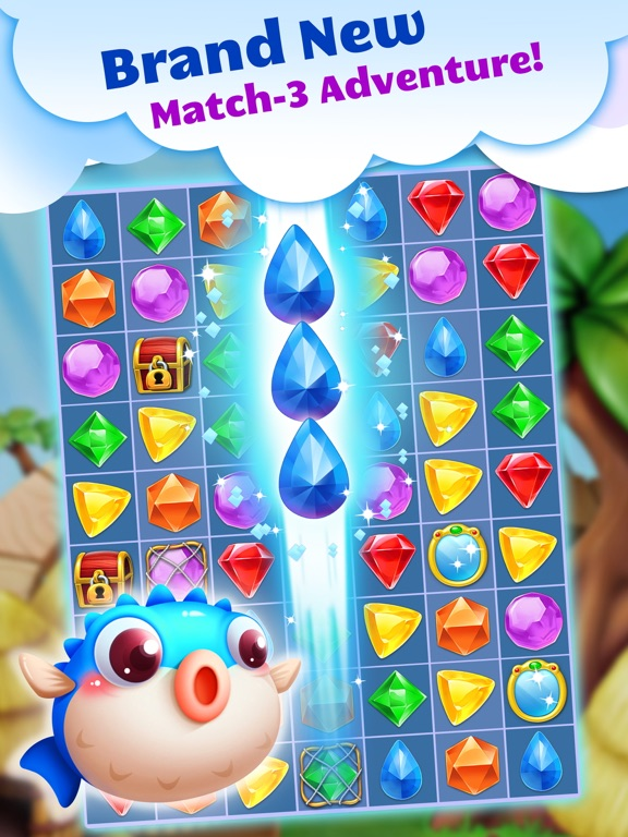 Jewel Splash Dash Edition - Brand New Match 3 Game-ipad-0