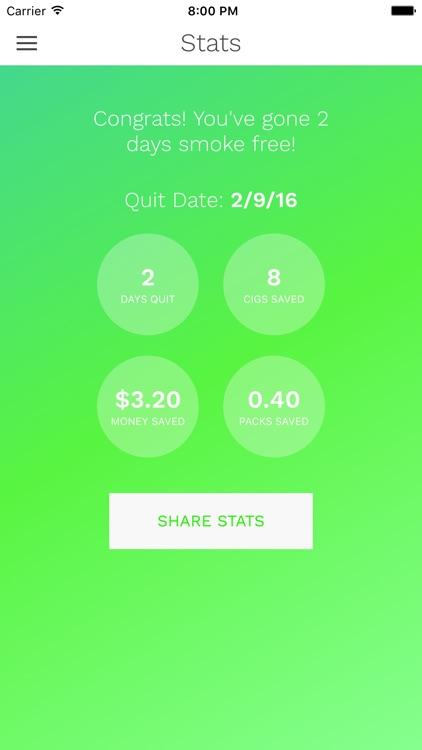 CigQuit Pro: Quit Smoking and Go Smoke Free screenshot-3