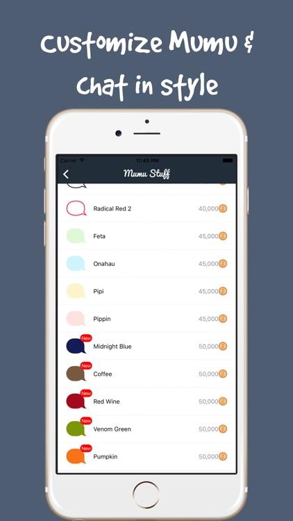 Mumu Chat - Live Chat Rooms, Online Dating Singles screenshot-4