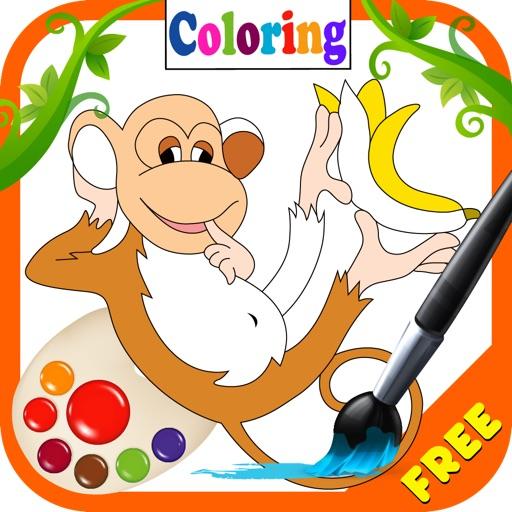 Coloring My Little Monkey