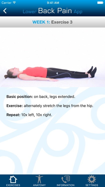 Lower Back Pain App