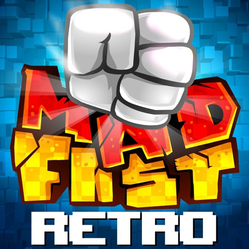 MADFIST Retro - Addictive  Action Arcade Timekiller Game