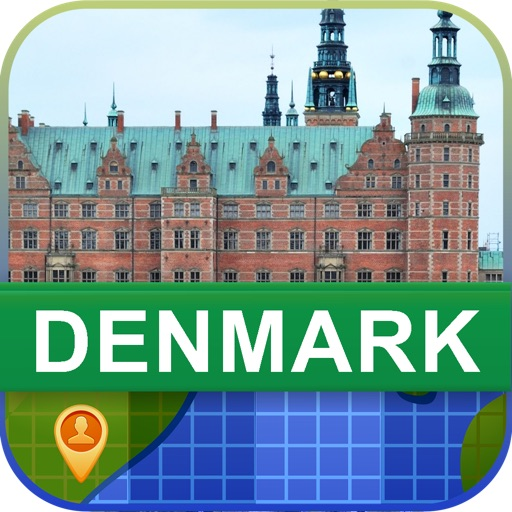 Offline Denmark Map - World Offline Maps