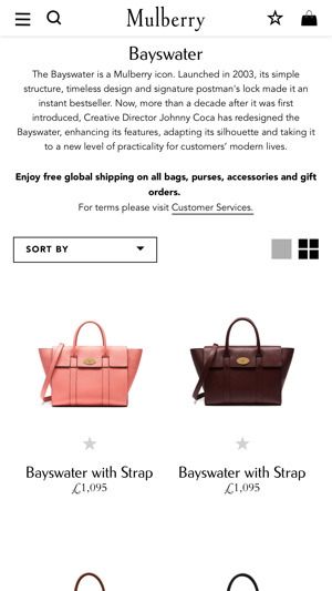Mulberry on the App Store ce8245fd89980
