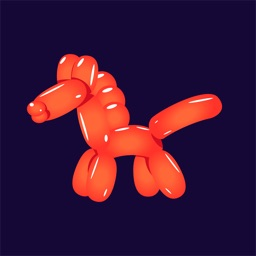 Animal balloons - Stickers for iMessage