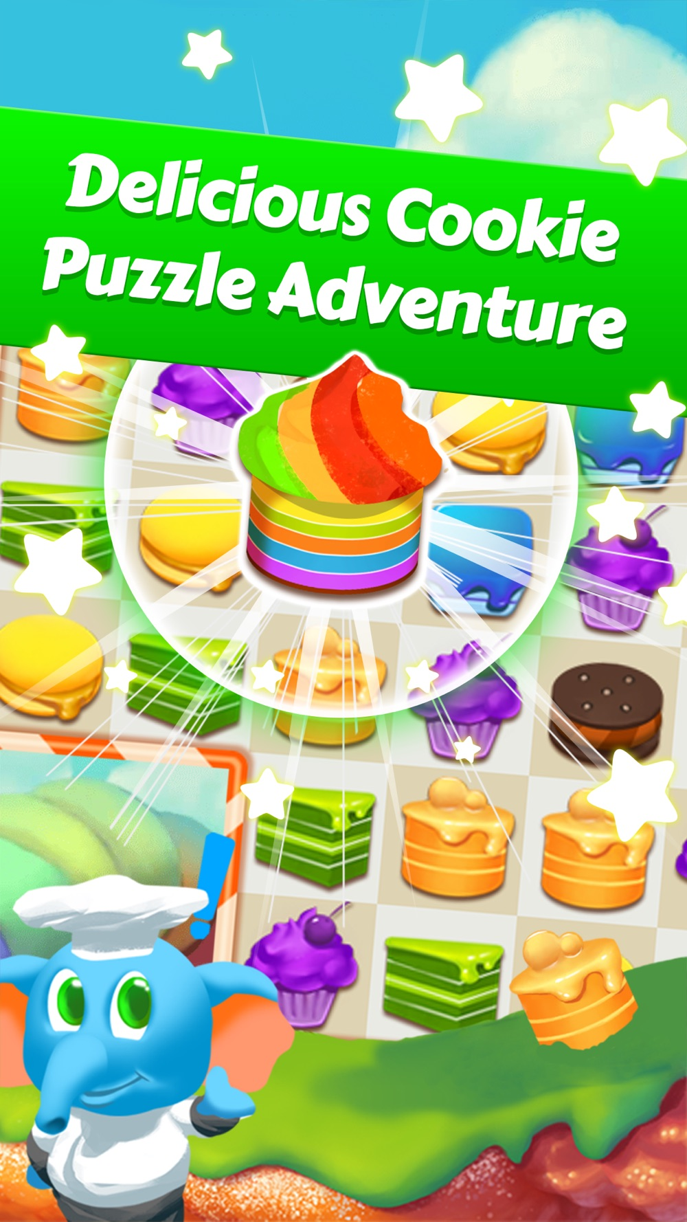 Chef Cake Frenzy – Cookie Blast Fever Cheat Codes