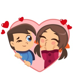 Sweety Lover Sticker Pack for iMessage