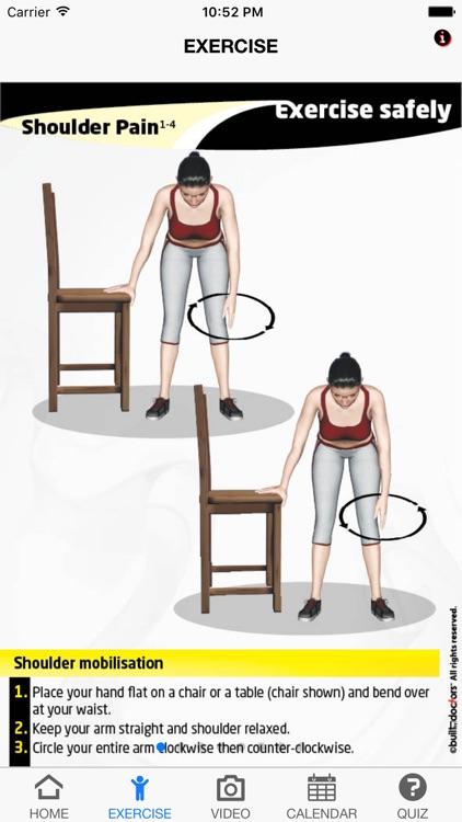 exercise shoulder pain by builtbydoctors rh appadvice com