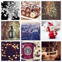 Christmas Photo Collage - InstantCollageMaker