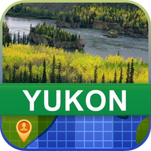 Offline Yukon, Canada Map - World Offline Maps