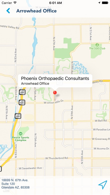 Phoenix Orthopaedic Consultants screenshot-2