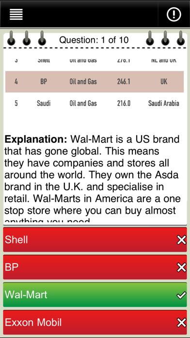 GCSE Geography screenshot three