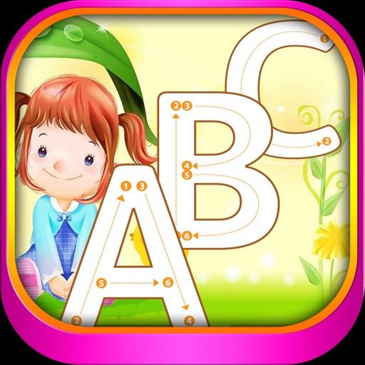 PreSchool ABC English Alphabet Tracing learning