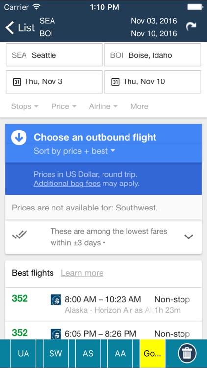 Boise Airport Pro (BOI) + Flight Tracker screenshot-4