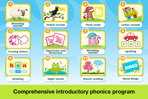 Phonics Fun on Farm Educational Learn to Read App screenshot 2