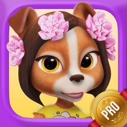 ! My Talking Lady Dog PRO - Virtual Pet