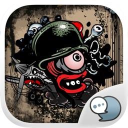 Grunge Emoji Stickers Keyboard Themes ChatStick