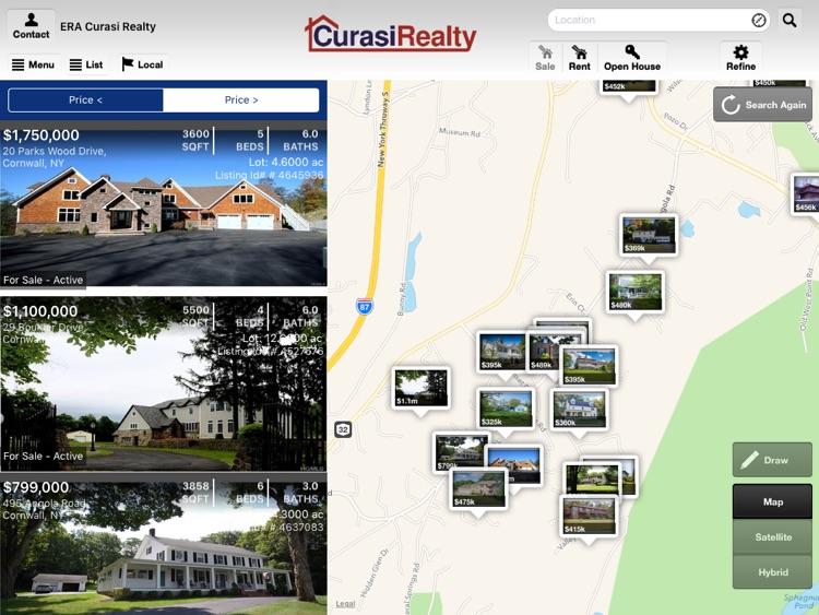 Curasi Realty for iPad